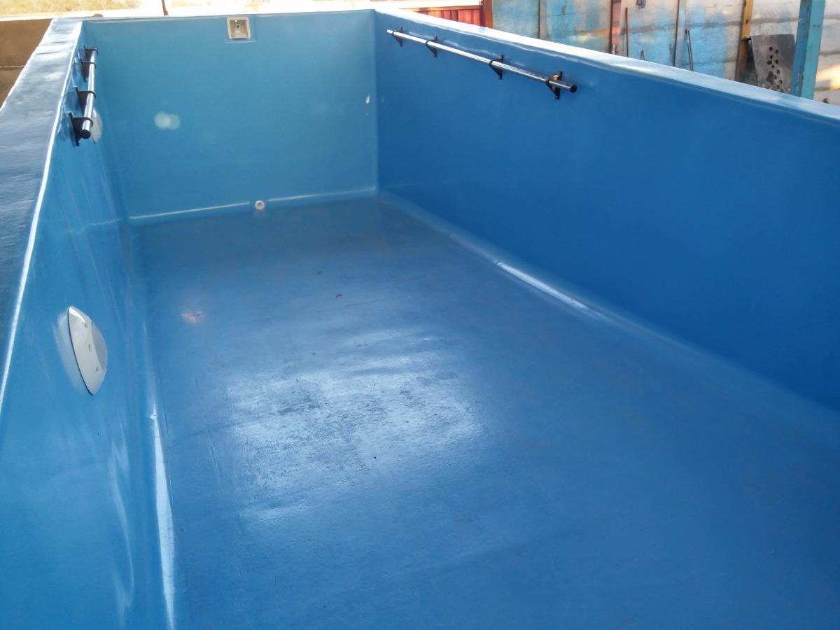 Piscina fibra de vidrio 8 x 3 1 mts en - Vidrio para piscinas ...