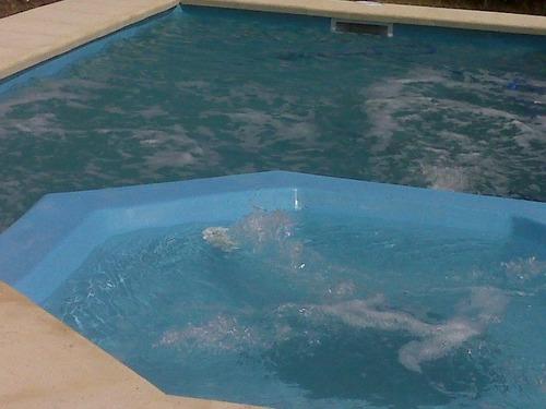 piscina fibra de vidrio con jacuzzi 7x3.20