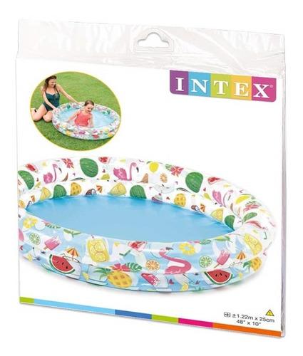 piscina frutas e diversão 150 litros - intex