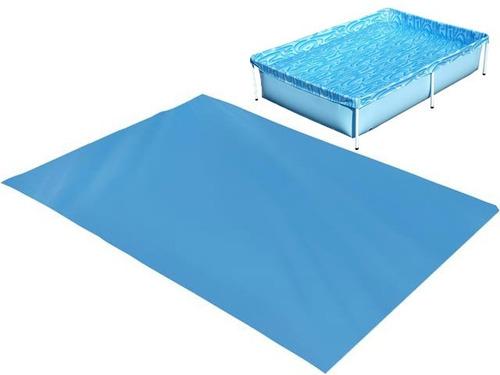piscina infantil 1000 litros + forro lona - mor