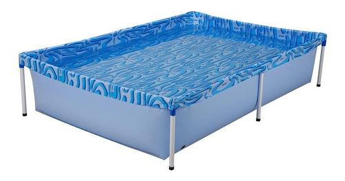 piscina infantil 1.000 litros lona pvc mor garantia
