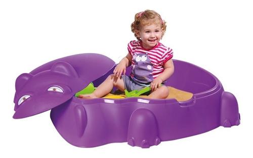 piscina infantil hipopótamo com tampa 559600 belfix