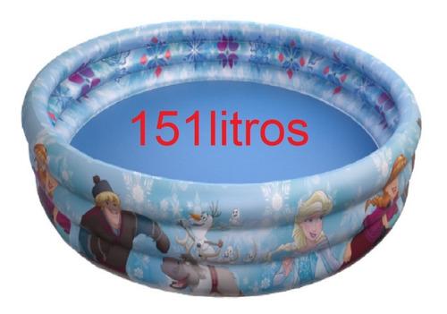 piscina infantil inflável 151 litros princesas vingadores