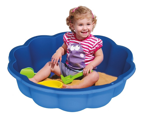 piscina infantil junior flor azul 559500 belfix
