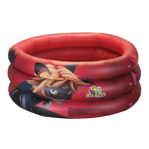 piscina infantil miraculos ladybug inflavel 38 litro bestway