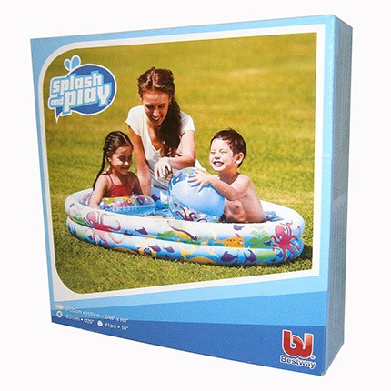 piscina inflable 122x20cm.