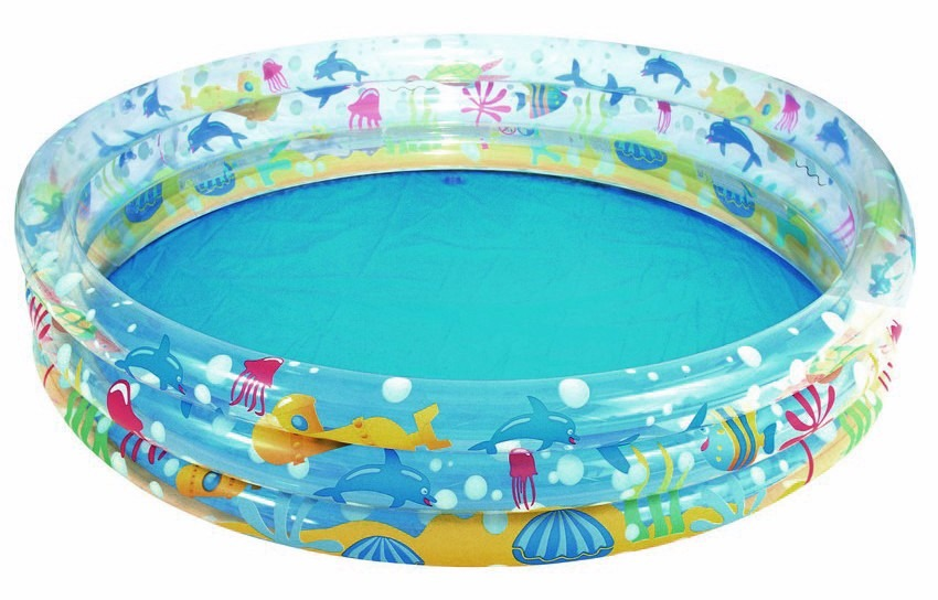 Piscina inflable 3 aros bestway 183x33 cm 51005 bs 54 for Piscina inflable bestway