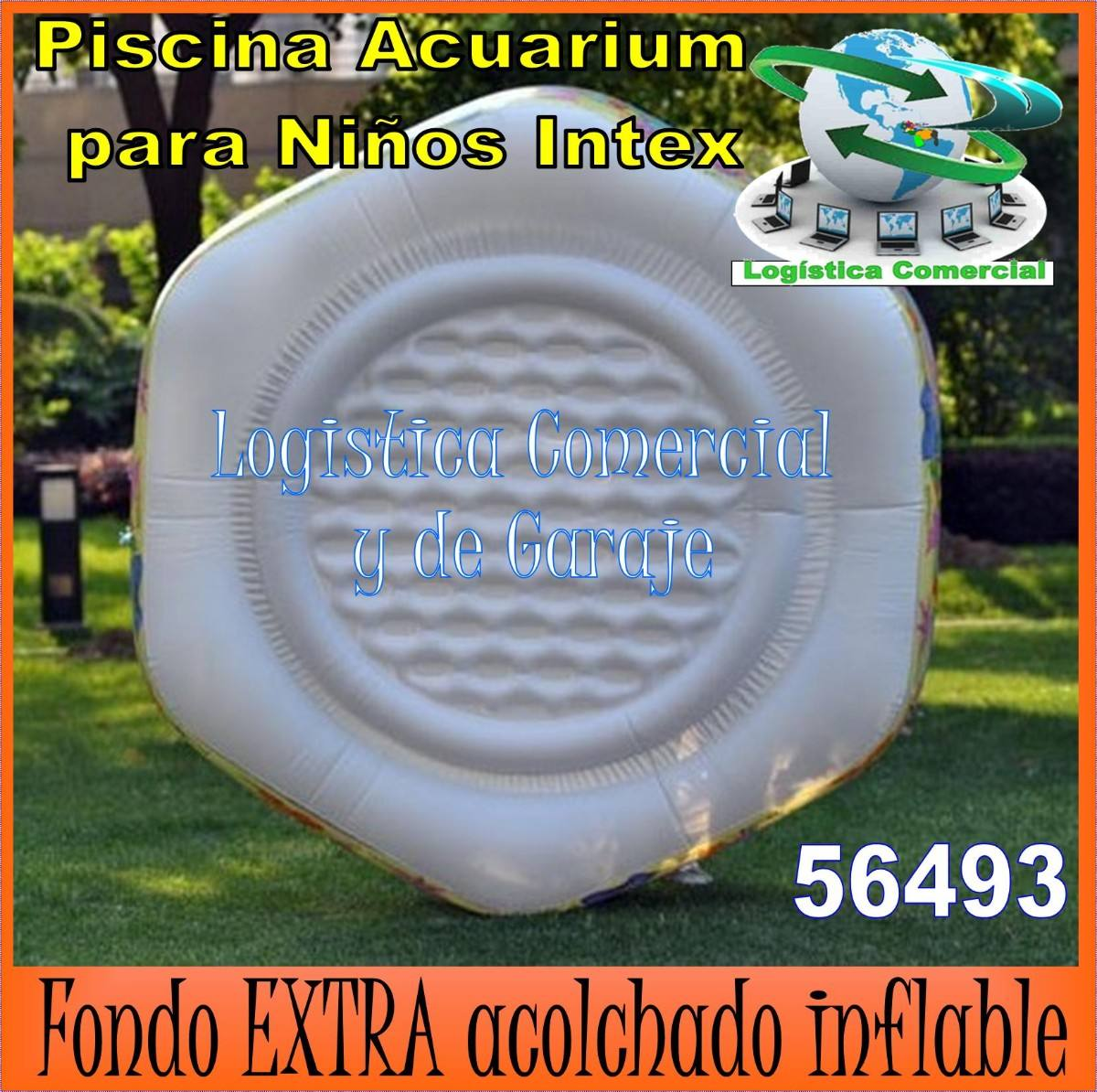 Piscina inflable acuario 56493 191x178x61 cm intex acolch for Piscina inflable intex