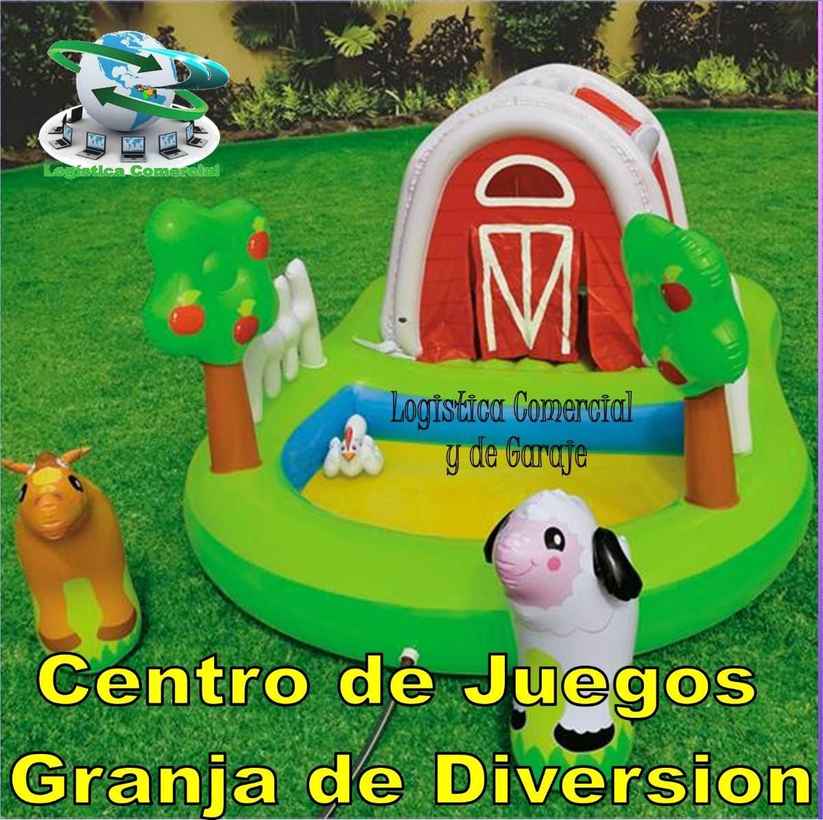 Piscina inflable centro juego accesorios granja intex 57455 bs 7 95 en mercado libre - Panales para piscina ...