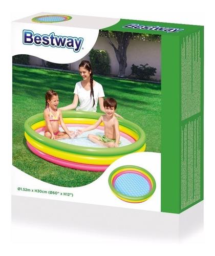 piscina inflable  infantil bestway 152 cm x 30 cm 51103