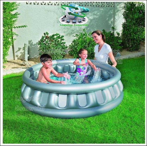 piscina inflable infantil nave espacial 152cmx43cm 51080
