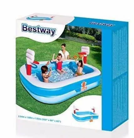 piscina inflable intex  de baloncesto bestway