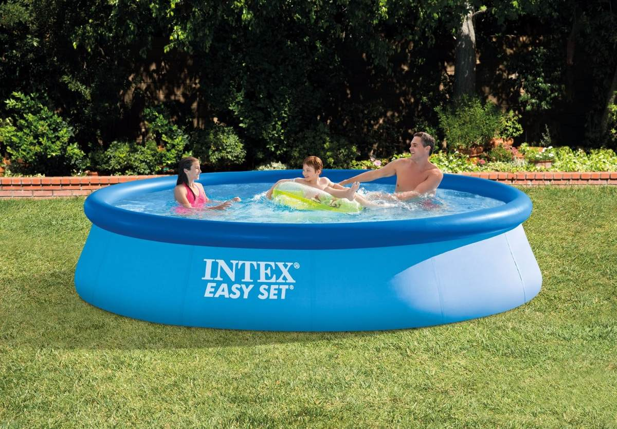 Piscina inflable intex easy set 28143 396x84cm 7290l 4 for Piscina inflable intex