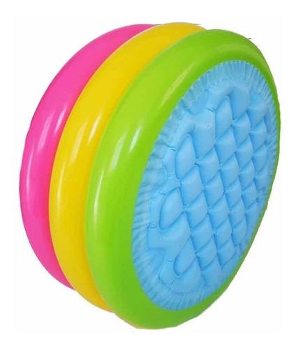 piscina inflable intex redonda pequeña multicolor alta calid