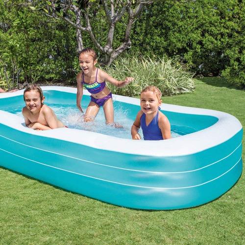 piscina inflable intex swim center family