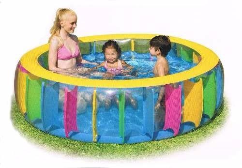 piscina inflable - multicolor -  1,83 x 61 cm 760lt