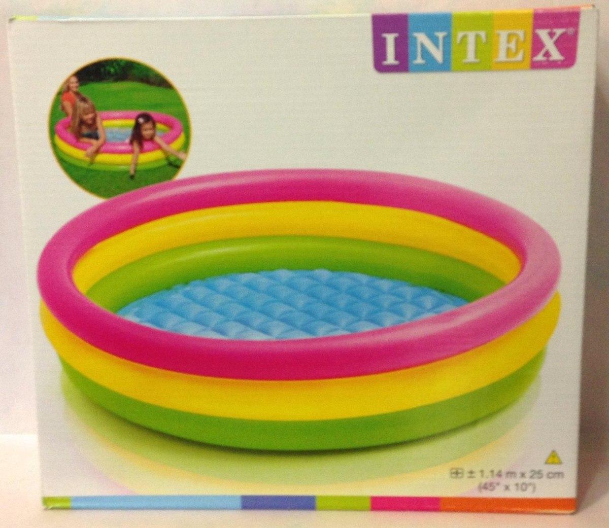 Piscina inflable ni os intex en mercado libre for Precios de piscinas inflables para ninos