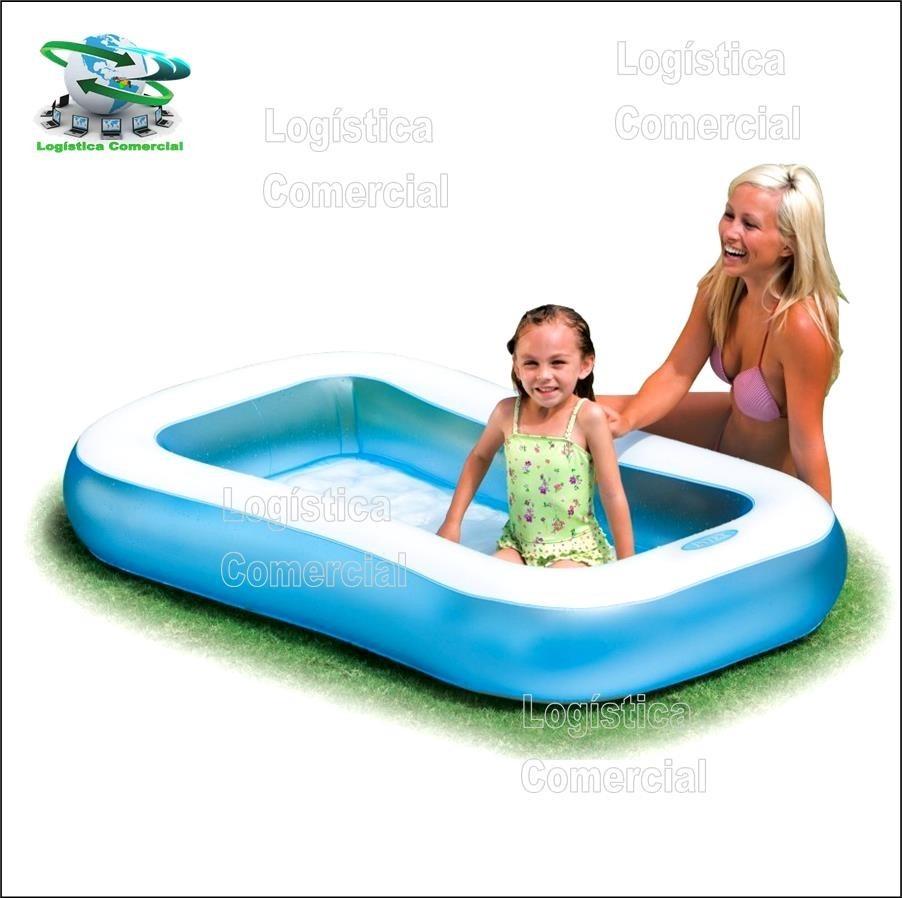 Piscina inflable para bebes intex piso extra acolchado for Piscina inflable intex para bebe
