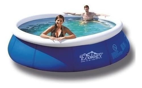 piscina inflable pequeña 2.4mts tanque de agua ecology