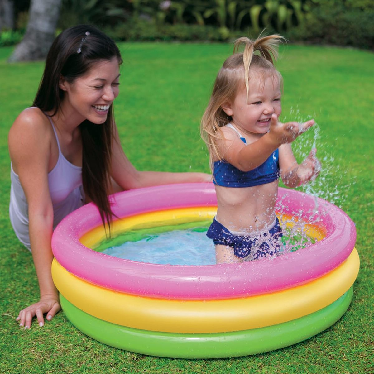 piscina inflable peque a para ni os intex bs