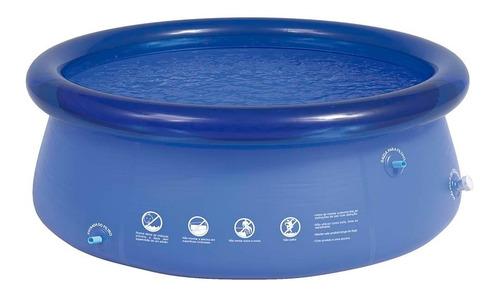 piscina inflável 1000 litros splash fun 165x55cm - mor