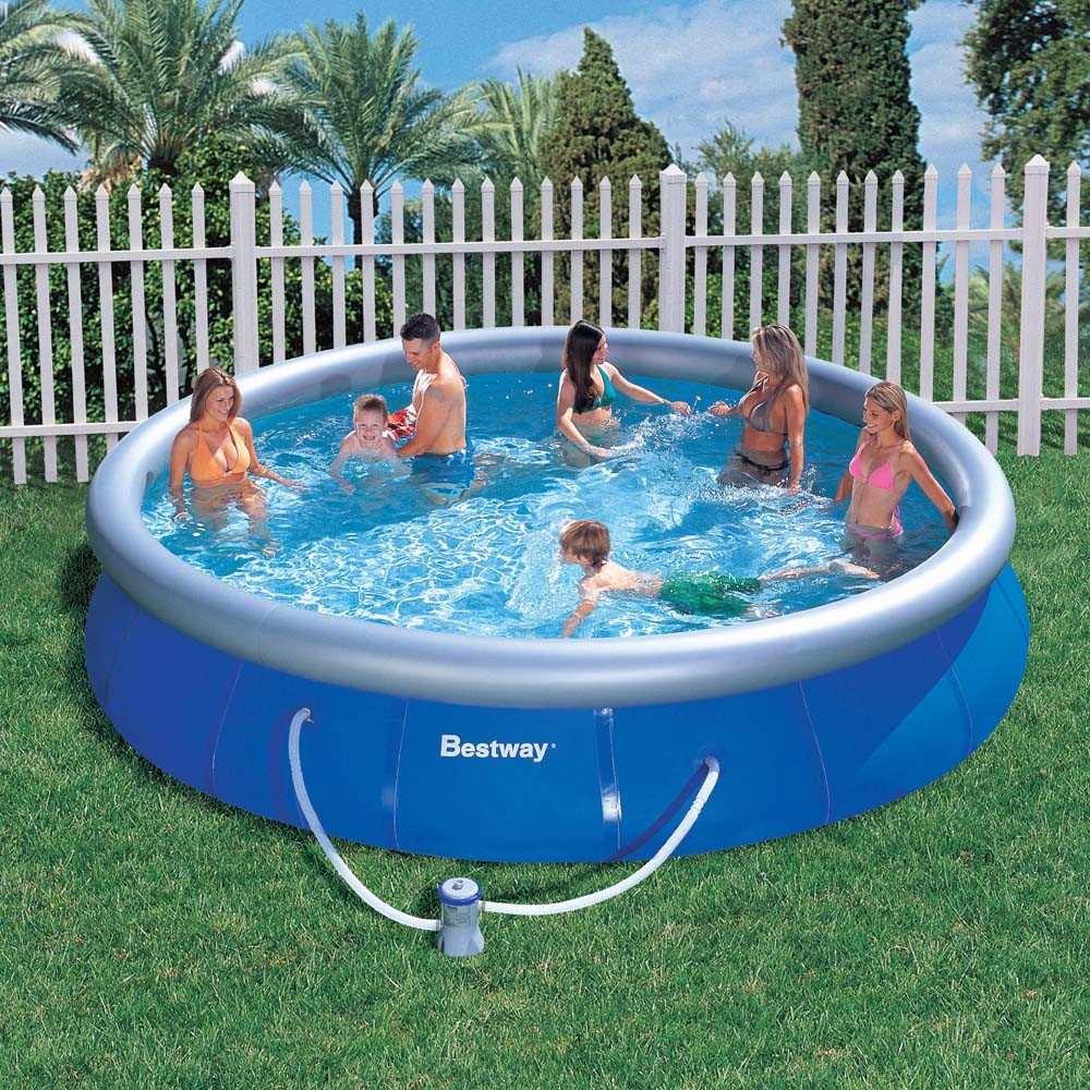 Piscina infl vel 10179 litros bomba filtro bestway 110v for Filtro piscina bestway
