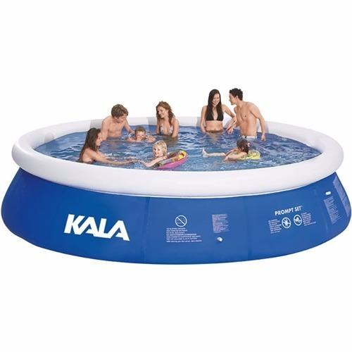 piscina inflável 10200 litros + filtro + bomba + capa c/ nf