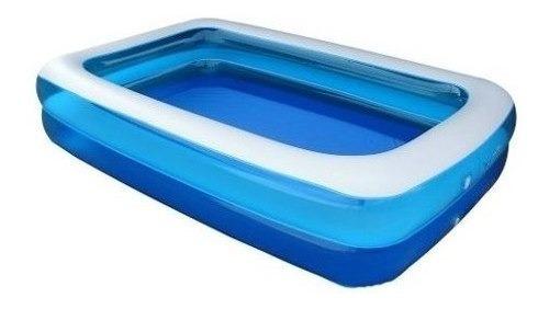 piscina inflável 1200 litros retangular nautika summer