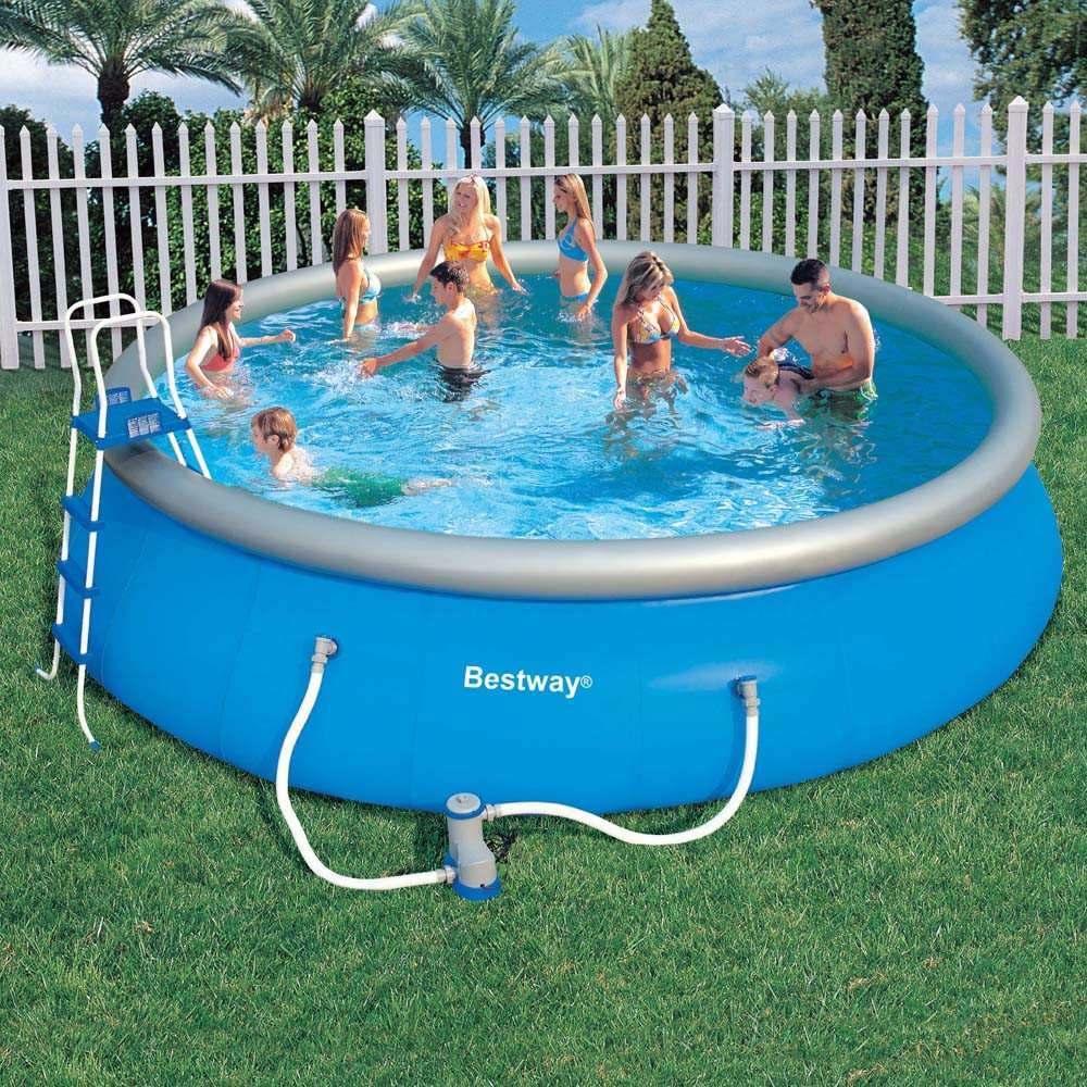 Piscina infl vel litros bestway gigante grande - Fotos de piscinas intex ...