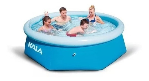 piscina inflável 2300 l 216780 kala + filtro + forro + bomba