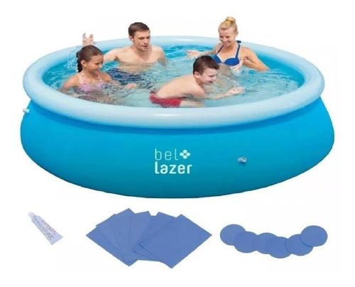 piscina inflável 2300 l 229 x 66 100800 bel life