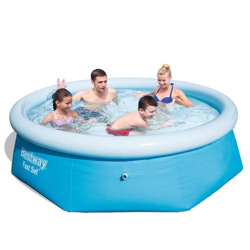 piscina inflável 2.300 litros + filtro 1.249 litros 127v