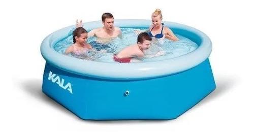 piscina inflável 2300l kit reparo kala + forro + capa