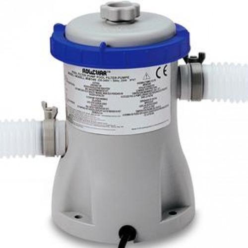 piscina inflável 2.419 litros + filtro + capa + bomba intex