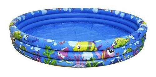 piscina inflável 300 litros infantil meninos meninas peixe