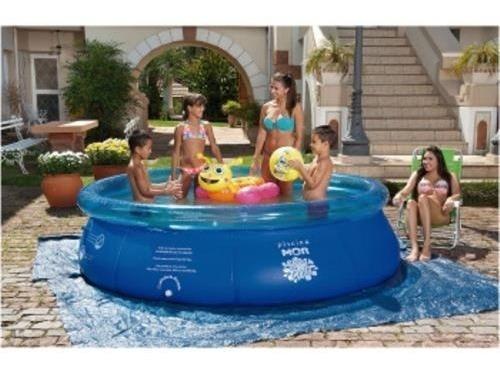 piscina inflável 3.400 litros mor