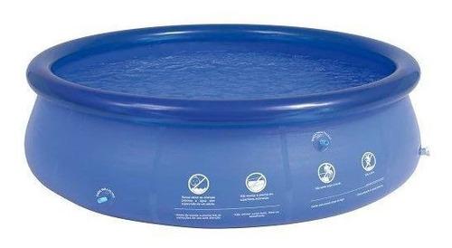 piscina inflável 3400 litros mor