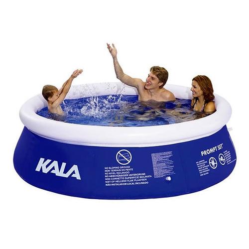 piscina inflável 4000 litros com bomba filtro 127v kala