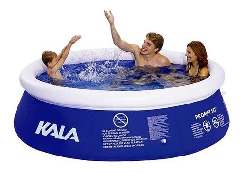 piscina inflável 4000 litros com bomba filtro 220v kala