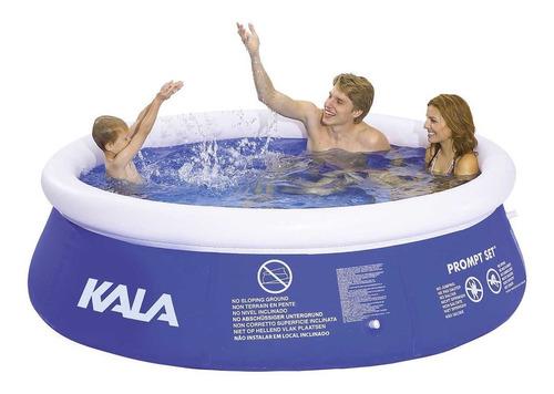piscina inflável 4000l 196126 kala + forro + capa + bomba