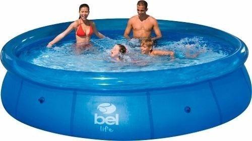 piscina inflavel 4600lts adulto infantil + filtro 2000l/hora