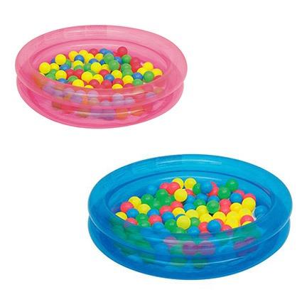 Piscina infl vel 73 l infantil 50 bolinhas banheira for Bolas piscinas infantiles