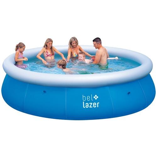 piscina inflável 8200 litros com filtro - 2000l/hr e cobe