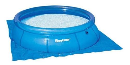 piscina inflável bestway 9.677 l filtro + capa lona + escada