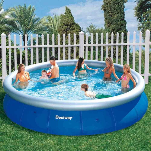 piscina inflável bestway intex 9.677 litros - pode retirar