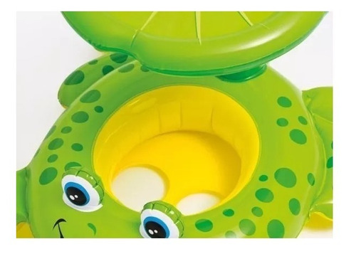 piscina inflavel cogumelo + boia sapinho com toldo