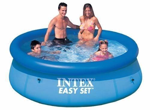 piscina inflável easy set intex 2.419 litros - 2420 promoção