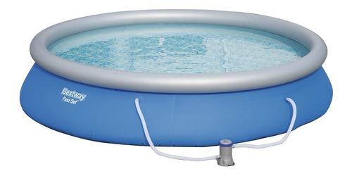 piscina inflável fast set 57313 com bomba filtro 9.677 l/h