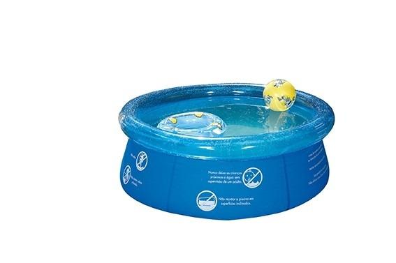 Piscina infl vel infantil 1000 litros lona pvc redonda mor for Piscina infantil 2 mil litros