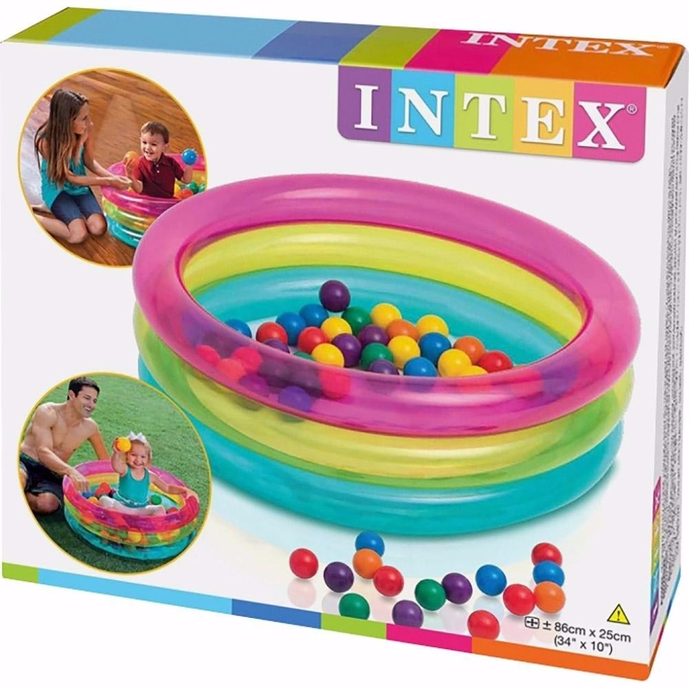 Piscina infl vel infantil 50 bolinhas intex multi for Piscina bolas bebe